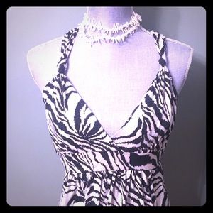 Black & White Zebra print dress